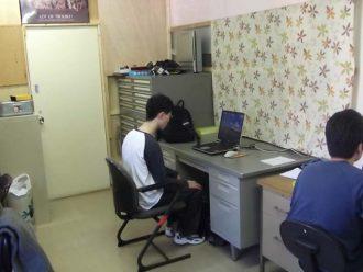 パソコン作業1