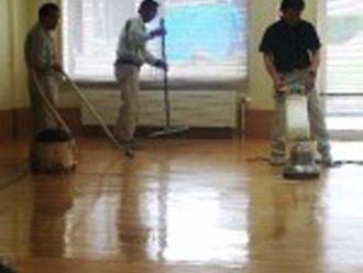 清掃作業の見学1