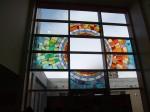 ステンドグラス『彩光の四季』