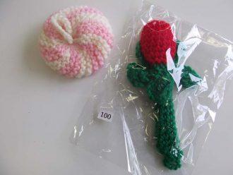 毛糸の手作り品