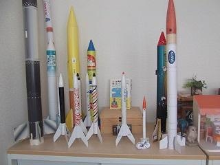 紙製ロケット全種類