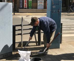町内清掃(ポランティア)